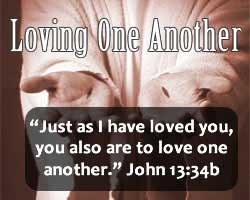 Love one another as a powerful witness!